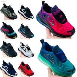 Schuhe calzado online-Nike air max 720 2019 New Reagieren Desinger Kinderschuhe Kinder Outdoor-Turnschuh-Jungen-Mädchen-Trainer Babyschuhe Sport Kleinkind Calzado Größe 24-35 Laufen