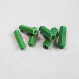 filo di installazione Sconti 6mm 8mm Tappo di gomma verde Home Improvement Materiale plastico Accessori di illuminazione a LED per installazione di lampade Fissaggio di scatole metalliche