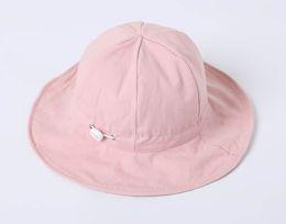 В кепке New Kids Fisherman's Cap для весны и осени одеты двусторонние козырьки от солнца для мальчиков и девочек. Солнцезащитный колпачок ребенка можно отрегулировать. supplier side caps for girls от Поставщики боковые крышки для девочек