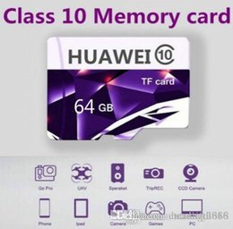 mp4 progettazione Sconti Capacità di progettazione 4GB genuino 8GB 16GB 32GB 64G micro SD MicroSDHC micro SD SDHC C10 UHS-1 TF Huawei