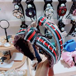 caixa de luz fotográfica Desconto Padrões de moda geométricas Adulto hairband Headband For Women Turban listrado Cabelo Banda Bee padrão da cópia Acessórios Cabelo 2 cores Headwear