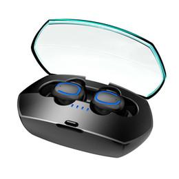 Bluetooth 5.0 TWS Kopfhörer Dual Mikrofon Deep Waterproof IPX7 Funkkopfhörer Touch Control Ohrhörer mit Ladekoffer von Fabrikanten