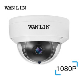 cúpula câmera de segurança metal Desconto WANLIN 2MP Dome de Metal Vandalproof SONY IMX323 1080 P 2.0 MegaPixel Câmera de Vigilância de Segurança CCTV AHD Câmera 15 Pcs IR LED