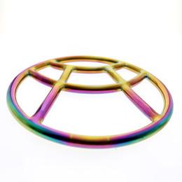 2019 YENI MKS06 gökkuşağı shibari yüzük Özel tasarım Cerrahi paslanmaz çelik esaret dişli shibari yüzük çift için özel kalıplama nereden gotik maskeler tedarikçiler