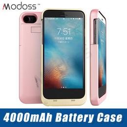 супер цифровой мобильный Скидка ZZYD 4000 мАч Power Bank Case Мобильный телефон Внешний чехол для зарядки аккумулятора для iP 6 7 8 Plus