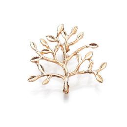 verdadeiras árvores de natal Desconto Tiro Real Banhado A Ouro Árvores Broche de Presente de Natal Das Mulheres de Metal Pin Moda Brosh 2019 b69