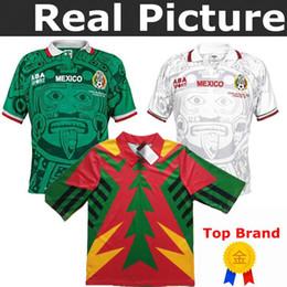 melhor méxico Desconto 1994 México-Retro-Jorge-Campos-1 Ramirez 7 Hernandez 15 HANCHEZ 9 TOP melhor Qualidade 1998 México JORGE CAMPOS BLANCO Arellano Camisa de Futebol