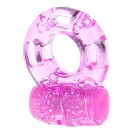 Finger Ring Vibrator Haute Élastique Silicone Pénis Vibrant Clitor Massager Cockring Jouet Sex Toys Produits Pour Adultes pour Hommes ? partir de fabricateur