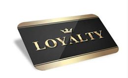 Дисконтная карта онлайн-(1000 шт. / Лот) пользовательские пластиковые скидки подарочные карты / карты лояльности / членский билет