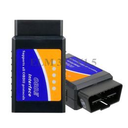 programador de kilometraje universal Rebajas Real ELM 327 V 1.5 ELM327 Bluetooth OBD2 v1.5 Android Car Scanner Automotriz OBD 2 Herramienta de diagnóstico del coche OBDII Scaner Automotriz