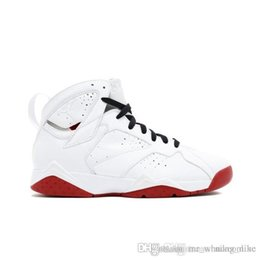 6175798c5bf6 Cheap Men Jumpman 7 VII basketball shoes 7s HOF fadeaway red Doernbecher DB  Cigar Champagne Tinker sneakers boots with original box for sale