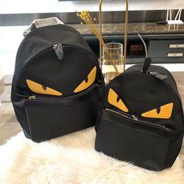 2019 mochilas pequenas para meninas 2019 Little monster backpack, mochila de costura de moda, meninos e meninas moda mochila mochilas pequenas para meninas barato