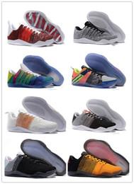 Deutschland 2019 hohe Qualität Kobe 11 Elite Männer Basketball Schuhe Red Horse Oreo Sneaker KB 11s Herren Trainer Sport Turnschuhe Größe 40-46 Versorgung