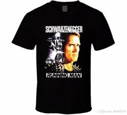 Buena camiseta Diseños Hombres Top Runner Arnold Schwarzenegger Película Stephen King Cartel Fan Camiseta O-cuello de manga corta camiseta desde fabricantes