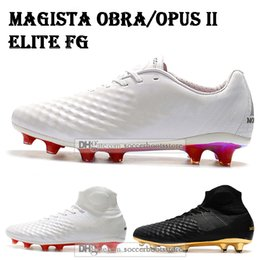 2019 nouveaux crampons de football magista Nouveaux chaussures de football pour hommes Magista Obra II chaussures de football FG Elite Superfly Magista Opus II FG ACC Crampons de football en plein air promotion nouveaux crampons de football magista