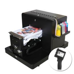 2019 weißer telefonkasten billig T-shirt Priner A4 DTG Drucker Kleidung Flachbett Multifunktionsdruckmaschine Handheld Inkjet Printer Portable Label