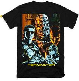 Cyborg Face bis die Größe 5XL möglich, Aufpreis 3 EUR Terminator Fun T-Shirt