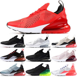 Nike Air Max 270 27C Cómodo y transpirable para hombre Zapatillas Deportivas TFY Vibes Filipinas Habanero Rojo Hueso de Luz Rojo Triple Negro Blanco 27C Mujer desde fabricantes