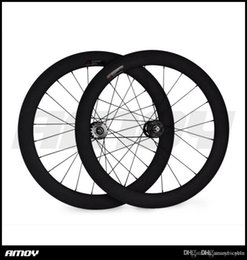 bicicleta de ciclocross de carbono Rebajas 700c 60mm engranaje fijo tubular UD mate especial Track Carbon entrega rápida factor decisivo Ruedas
