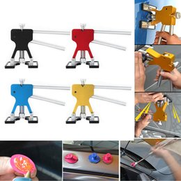 ascensore aria auto Sconti PDR Metal Dent Lifter Tabs Puller Auto Body Paintless Dent Removal Hail Repair