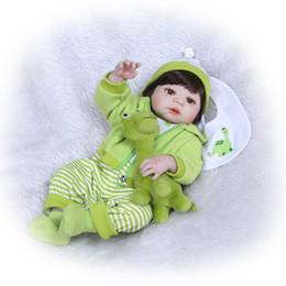 bambole veramente animate Sconti 55cm Giocattoli per bambole per neonati rinati in silicone per bambini realistici Bambole per neonati rinati bambino regalo brithday Bebe Alive Reborn Bonecas