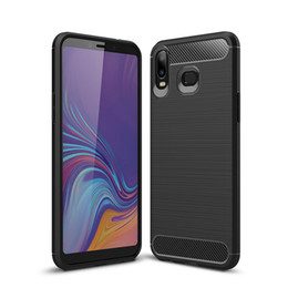samsung galaxy core covers Promo Codes - For Galaxy (A7 A8 A6 A6S J4 J6 J3 J7 J8 J2 Core Pro)2018 Motomo Brushed Vertical Soft TPU Case Carbon Fiber Ultra thin Flexible Slim Covers