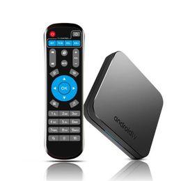 set tv box 3d Rebajas Caja de Smart TV KM9 DDR4 Android 9.0 Amlogic S905X2 4GB 32GB USB3.0 4K H.265 2.4G 5GHz Dual Wifi BT4.1 ATV Set Top Box