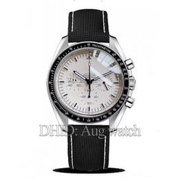 Роскошные мужские часы Swiss Import OS Chronograph Moonlight Super Commander Snoopy Limited Edition Тканевый ремешок из нержавеющей стали 316L Case R235 от