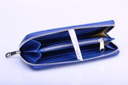 Venda quente Novo Designer de moda embreagem Goya zipper Carteira das Mulheres dos homens Único GY Genuíno couro longo parágrafo carteira com caixa de saco de pó de