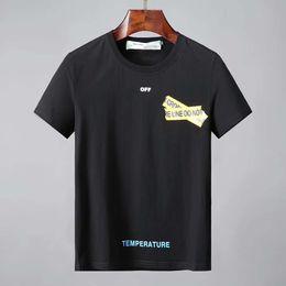 3caa3f7e44 ABFashion Tees Para Homens Hip Hop Algodão Mens off Vestuário T-shirt Gola  Redonda Homem bilionário Tops de Verão de Manga Curta preto camisa Branca  tee ...