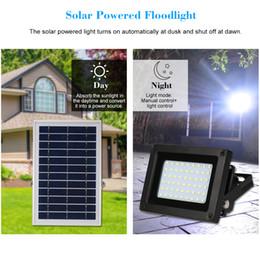 6v lithiumbatterien online-Solarleuchten 54PCS LED Wireless IP65 wasserdicht 6V 6W Solarleuchten eingebaute 4000mAh Lithium-Batterie für Garden Pathway Einfahrt