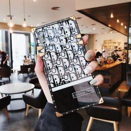 Espelhos móveis on-line-Nova acrílico fashion show espelho shell caso do telefone móvel para iphone x xs max xr 8 8 plus 7 7 mais 6 6 s além de designer de luxo capa