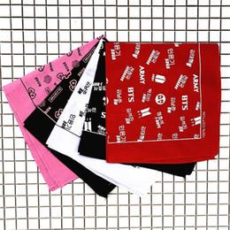 Lisa cheveux en Ligne-Kpop BTS Blackpink Mode Bandeau De Cheveux De Turban De Coton JK JM Joli Concert Bandeau De Soutien Lisa Rose Bandeau De Cheveux Armée Blink Cadeau