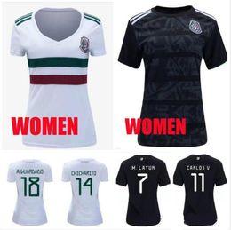 ef1972a706d 2019 2020 Mexico GOLD CUP Black MEN WOMEN Soccer Jerseys 2018 World Cup  kids CHICHARITO Camisetas H.LOZANO G.DOS SANTOS football Shirts