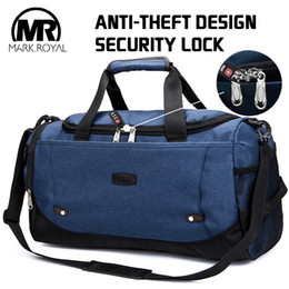 4ab998a88610 MARKROYAL Multifunctional Waterproof Men Travel Bag Anti-Theft Design Travel  Duffle Large Capacity Handbag Weekend Bag Overnight