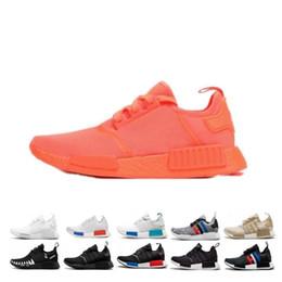 Обувь доставка по японии онлайн-Перевозка груза падения R1 Oreo Runner Япония Nbhd Primeknit OG Тройной Черный Белый Camo кроссовки Мужчины Женщины Nmds Runners XR1 Спортивные тренажеры