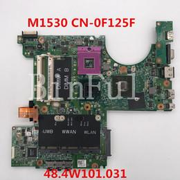 Placa mãe xps on-line-Alta qualidade Para XPS M1530 Laptop motherboard CN-0F125F 0F125F F125F 48.4W101.031 100% testado completo