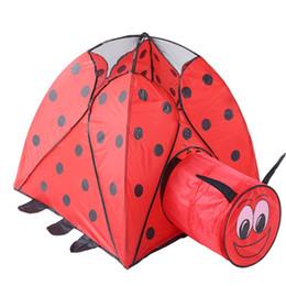 Yeni Katlanır Çocuk taşıması Kolay Araba Çadır Kuş Çadır çocuk Karikatür Red Dot Beetle Tünel Çadır Z117 nereden