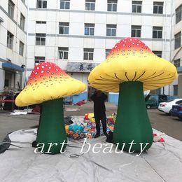 Canada champignons gonflables géants de décoration de champignon pour le festival de musique Offre