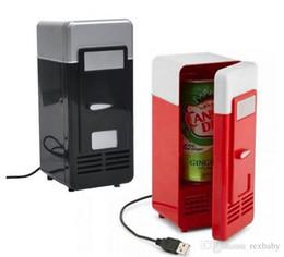 Argentina Mini USB Refrigerador Refrigerador Refrigerador para coche Bebida Bebidas Latas Refrigerador / calentador Refrigerador para PC portátil - Alimentación USB - Enchufe Suministro