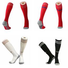 19 20 chaussettes de football Real Madrid, chaussettes de sport pour adultes, chaussettes de tennis AJAX pour hommes, genou haut, en coton 19 20 ? partir de fabricateur