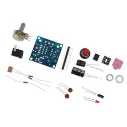 Diy amplifier kit online-LM386 Ultra-miniatura Mini Power Amplifier consiglio Modulo PCB fai da te Kit 3V-12V condensatore
