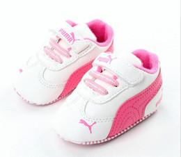 Мягкие подошвы для девочек онлайн-Новые Холст спортивная детская обувь Newborn Boys Girls First Walkers Infantil Toddler Мягкая подошва Prewalker Кроссовки для 0-18M
