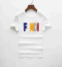 dfb97581 F D 2019 Crew Neck Pink T-shirt Summer New Men Women Tee Hip Hop Casual T- shirt Short sleeve t-shirt