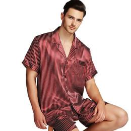UK Mens Silk Satin Pajamas Sleep Pyjamas  Pants Bottoms M~2XL Free Ship PO
