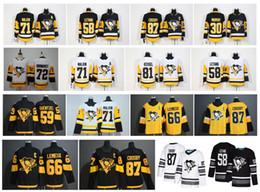 camisetas de la serie del estadio Rebajas 2019 Stadium Series Pittsburgh Penguins Jersey 87 Sidney Crosby 71 Evgeni Malkin Phil Kessel Kris Letang Lemieux Matt Murray Guentzel Hockey