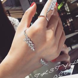 Ohrstulpe online-Designer-Schmuck-Sets Flügel Form Palm Manschette Ähre Ringe für Frauen heiße Art und Weise frei von Versand