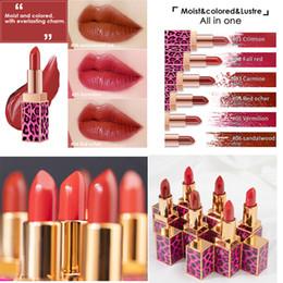 2020 maquillaje saludable Señoras Belleza Maquillaje Impermeable Sexy Hidratante Brillo labial de larga duración Impermeable Hidratante Retro Rojo lápiz labial saludable rebajas maquillaje saludable