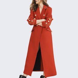 Canada Européen Américain Laine Veste Femmes En Automne Hiver 2019 Nouveau Style Femmes Mode Revers Tempérament Slim Manteau De Laine cheap american slim jacket woman Offre