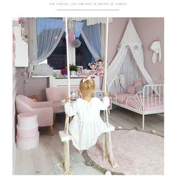 2019 oscillazione della stanza Altalena coperta Altalena per bambini in legno per bambini Decorazione camera per bambini nuovi giocattoli creativi Altalena per bambini oscillazione della stanza economici